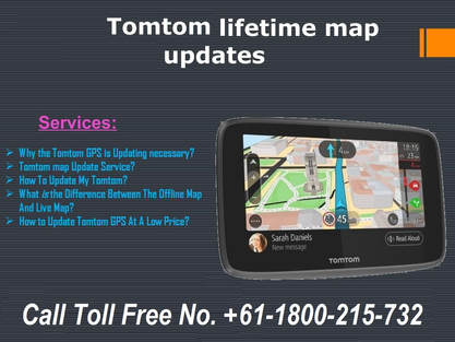 How does TomTom Map Updates Help Us? Dial Toll Free No  +61
